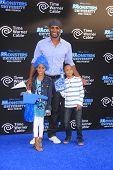 LOS ANGELES - JUN 17:  Boris Kodjoe, daughter Sophie, son Nicolas at the