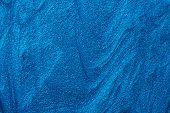 Blue Nail Polish Texture