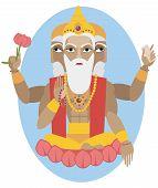 Lord Brahma flute