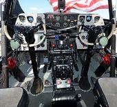 Turboprop Airplane Cockpit