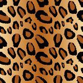 Leopard Print seamless tiling pattern