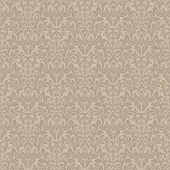 Seamless ornamental pattern for continuous replicate.