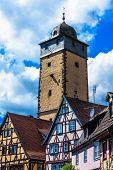 The Bayersturm in Lohr am Main in Spessart Mountains, Germany