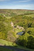 Yorkshire wooded valley
