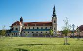 Basilica Of Saint Cyrillus And Methodius In Velehrad, Czech Republic