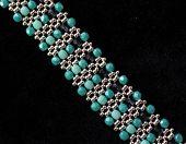 Beadwork - beads bracelet