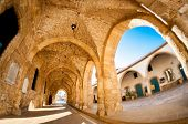 Arcs Of Ayious Lazarus Church, Larnaca, Cyprus