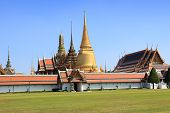 Wat Phra Kaew From Entrance, Bangkok, Thailand