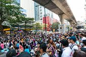 Bangkok - February 2: Large Crowd Of Thailand's Protest