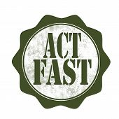 Act Fast Stamp