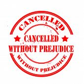 Cancelled Without Prejudice Stamp