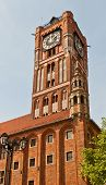 Belfry Of Old Town Hall (xiv C.) In Torun, Poland