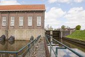 Water Inlet And Sluice Of Historical Pumping Station
