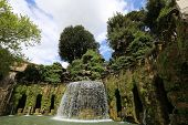 City park in the Italian province: parks, fountains & castles