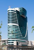 Modern Building In Astana. Kazakhsatan