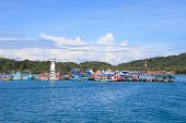 Bang Bao Port Important Pier To Destination Going Hub In Koh Chang Island Trat Province Eastern Of T