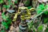 A Metal Automatic Water Sprinkler