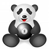 Panda Billiards Ball