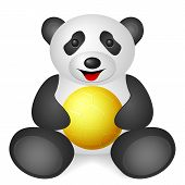 Panda Handball Ball