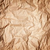 Paper texture of crumpled paper.
