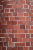 Rounded Brick Wall