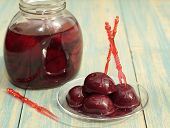 Compote Of Plums. .