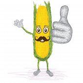 Corn Mustache