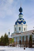 Church Assumption Blessed Virgin Mary. Pestyaki. Russia
