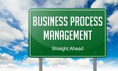 Business Process Management on Highway Signpost.