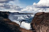Gullfoss The Great Watefall, Iceland