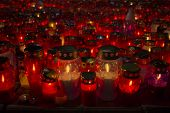 Many Lighted Candles