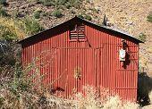Red gauging shed