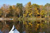 Kayaking In Autumn
