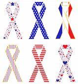 Patriotic Ribbons