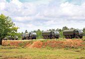Military Motorcade