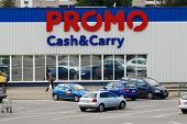 Promo Cash And Cary Shop Center In Vilnius City Ukmerges Street