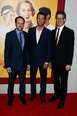 NEW YORK-AUG 4: Executive Producers Jeffrey Skoll, Jonathan King & CEO Participant Media Jim Berk attend