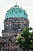 Elisabeth Church Dome In Nuremberg