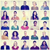 foto of diversity  - Community Diversity Group Headshot People Concept - JPG