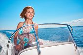picture of boat  - Summer vacation  - JPG