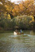 Autumn Canoe