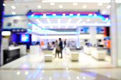 pic of department store  - Blur of Defocus Background of People in Shopping Mall or Department store - JPG
