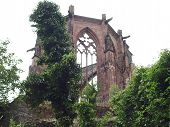 Ruin Of A Gothic Church
