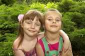 Two Little Girls