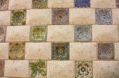Gaudi Mosaic.