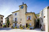 town hall, Rougon, Provence, France