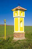 column of the Crucifixion near Strachotin, Czech Republic