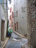 Provencal Street, Saint Maximin La Sainte Baume, Azur Coast, South Of France