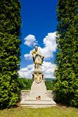 estátua de Saint Jan Nepomucky, Nove Mesto nad Metuji, República Checa