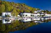 harbour of Risor, Norway